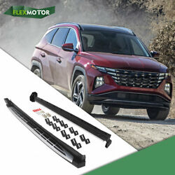 2pcs Side Step Fit For Hyundai Tucson 2021 Pedal Running Board Nerf Bar New