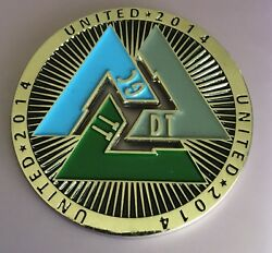 Daniels Trading Gain Capitol Sales Tech Service Coin Medal