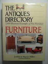 Antiques Directory Of Furniture By Judith Miller And Random House Value Publishi