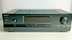 Sony Str-dh100 Stereo Receiver Fm 2 Channel Audio Control Center - Tested