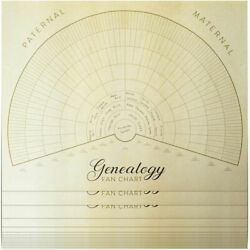 Blank Family Tree Genealogy Charts 17 x 22 Inches 15 Pack