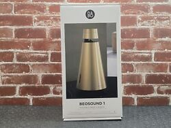 Bang And Olufsen Beosound 1 With Google Assistant Brass Tone 1666513 New