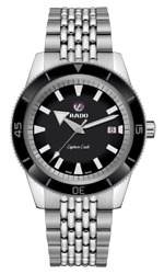 Rado Captain Cook Automatic 42mm Black Dial Stainless Steel Mens Watch R32505153