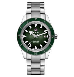 Rado Captain Cook Automatic 42mm Green Dial Stainless Steel Mens Watch R32105313