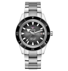 Rado Captain Cook Automatic 42mm Black Dial Stainless Steel Mens Watch R32105153