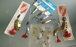 Lure Former Abu Suissex Flies .collection.fishing Lure Vintage Real