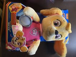 Paw Patrol, Snuggle Up Skye Plush With Light-up Flashlight And Sounds New
