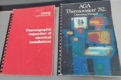 Rare Thermovision 782 Thermal Imaging Infrared Electrical Operating Manual X 2