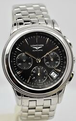 Longines Flagship Chronograph Automatic Stainless Steel Gents Watch
