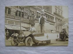 Postcard Parade Military Float - Possibly 1909 Time Frame - Goodspeed Bros