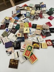 Matchbook Collection More Than 110 Matchbooks