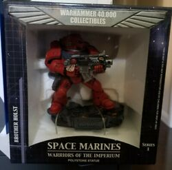 40k Space Marines Blood Angels Brother Holst Polystone Statue / Figure Sideshow