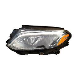 Mb2518106 Driver Side Led Headlight Lens And Housing