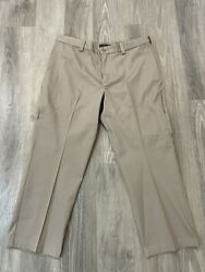 Mens 511 Tactical Series Beige Pants Concealed Weapon Pockets Size 40 X 28
