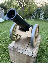 Johnny Rebel Toy Cannon By Remco 1960 Original Ramrod And 5 Balls