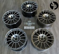 Set Of 5 4+1 Spare Enkei Rc-t4 18x9.5 +30 5x114.3 Competition Rct4