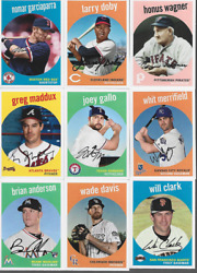 2018 TOPPS ARCHIVES SINGLES amp; RC#x27;S INSERT***YOU PICK*** $1.10