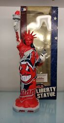 2008 Cleveland Indians Statue Of Liberty Forever Collectibles Rare Chief Wahoo