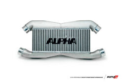 Ams Performance Rep Alpha Fmic For Stock Ic Piping W/logo For 09+nissangt-r R35