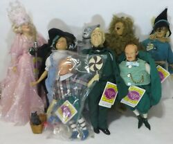 Wizard Of Oz Presents Hamilton Gifts Doll Set Of 9 1988 With Tags