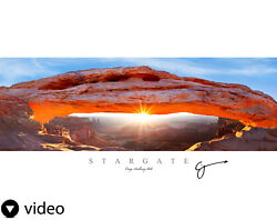 Acrylic Print Stargate By Craig Bill Complete Landscape Artwork Ready To Ship