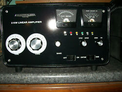 Andnbspheathkit Sb-220 Amplifier With 160m Band Added