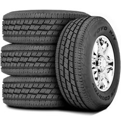 4 New Toyo Open Country H/t Ii 285/50r20 112v A/s All Season Tires