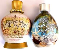 Designer Skin Visionary Dark Intensifier That's What Sea Said Tanning Bed Lotion