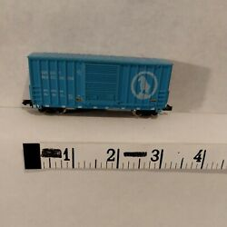 N Scale Freight Car High Cube Box Car Gn Great Northern Blue Atlas Usa Exc