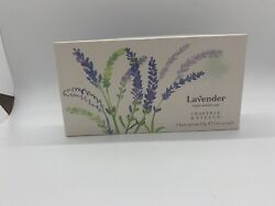 Crabtree And Evelyn Lavender Triple Milled Soap. 3 Bars 3 Oz Each. Discontinued