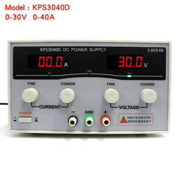 30v 20a-50a Lab Variable Dc Switch Power Supply Adjustable Dual Digital Display