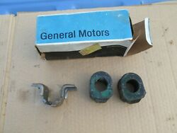 Nos Chevy Pontiac Olds Buick Cadillac Gm Front Sway Bar Bracket 406887