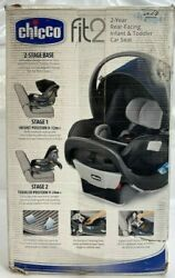 Chicco Fit2 Air 2-year Rear Facing Infant And Toddler Car Seat - Open Box See Pics