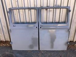 1930 1931 Model A Ford Coupe Doors Pair 1