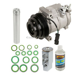 For Dodge Challenger And Charger Ac Compressor W/ A/c Repair Kit Tcp