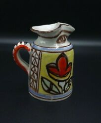 Giovanni Desimone Italy Picasso Pottery Vintage Hand Painted Pitcher