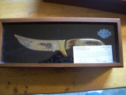Harley Davidson Live To Ride...ride To Live Knife Nice 1559/3000 Made