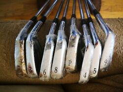 Mizuno Pro Mp-59 Forged Mci 70 Hardness S Set Of 8 -- 3 - 9 And Pw