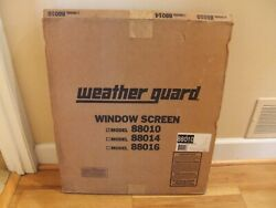 Weather Guard File 88010 Van Window Screen Security Ford Gm Dodge Gmc Chevy