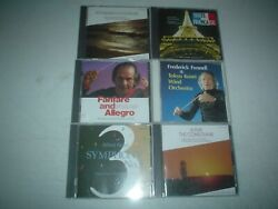 Tokyo Kosei Wind Orchestra - Lot Of 6 Different Cds Fennell Alfred Reed And More