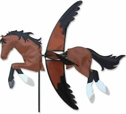 27 Bay Horse Wind Spinner Garden Stake By Premier Kites And Designs
