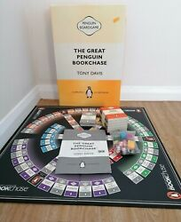 The Great Penguin Bookchase Board Game 75th Anniversary By Tony Davis Complete