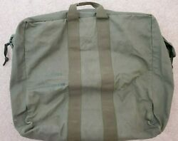1989 Us Military Flyers Pilot Kit Bag Canvas Flight Duffle Us Army Air Force