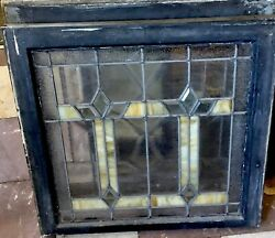 Rare And Beautiful Art Deco Style Window From Arts And Crafts Bungalo Home
