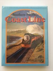 Southern Pacificandrsquos Coast Line Train Book By John R. Signor New Aaa-1