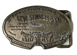 Antique Levi Strauss And Co. Belt Buckle - San Francisco, Ca. - Extremely Rare