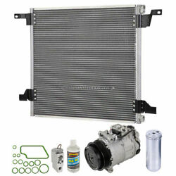 For Mercedes Ml350 Ml500 2003-05 A/c Kit W/ Ac Compressor Condenser And Drier