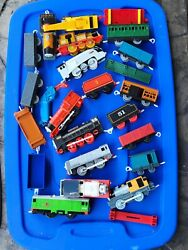 Thomas The Train Engines Cars Tracks Crane And Accessories