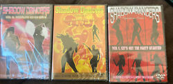 3 X Shadow Dancers Volume 1 5 And 6 Dvd Rare Oop Groovy Lava Lamp