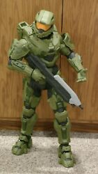 Jakks Pacific Halo 31and039and039 Master Chief Huge Action Figure Damaged